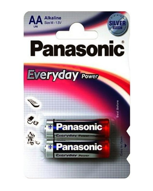 Батарейка щелочная PANASONIC Every Day Power AA/2B