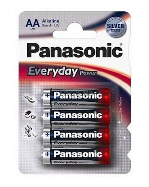 Батарейка щелочная PANASONIC Every Day Power AA/4B