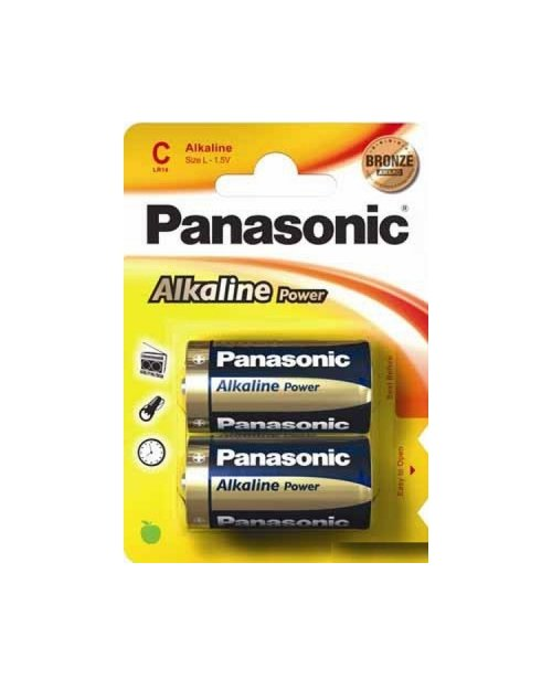 Батарейка щелочная PANASONIC Alkaline Power С/2B