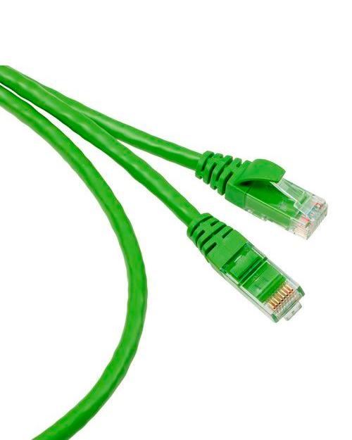 3М FQ100071395 Коммутационный кабель кат. 6, неэкранированный, RJ45-RJ45, зеленый, 1 м, UTP, LSZH - фото 1