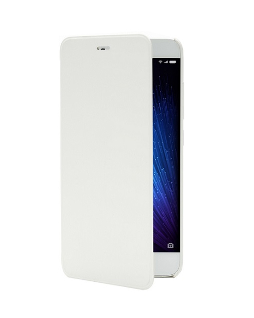 Чехол книжка flip Cover case for Mi5 White