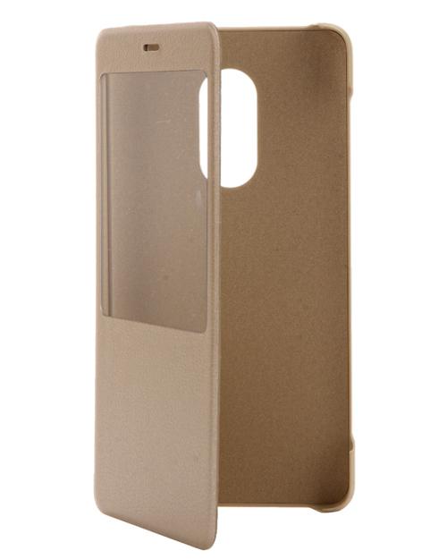 Чехол книжка Flip case original Xiaomi Redmi Note 4 (Black)