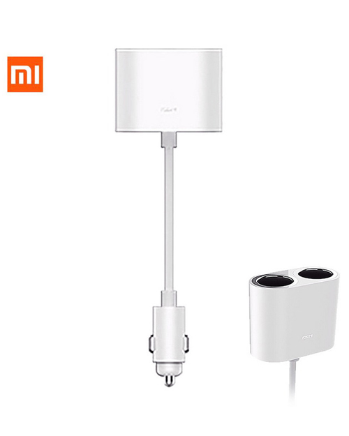 Адаптер RoidMi 1 to 2 charger car adapter White