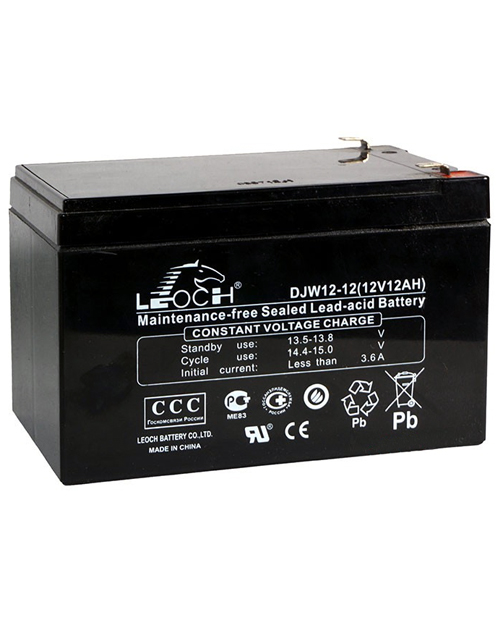 Leoch battery 12V/12Ah