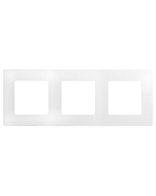 Legrand 672503 Рамка 3п БЕЛ ETIKA - главное фото