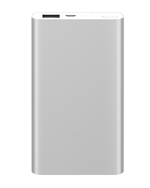 Power bank Xiaomi 5000 mAh  silver (model 2018 CN)