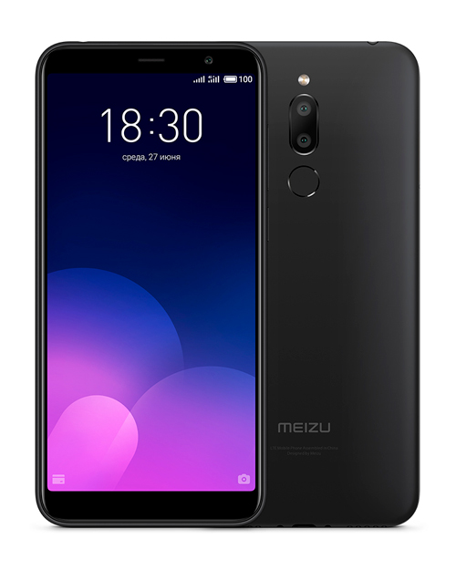 Смартфон Meizu M6T 3+32GB Black