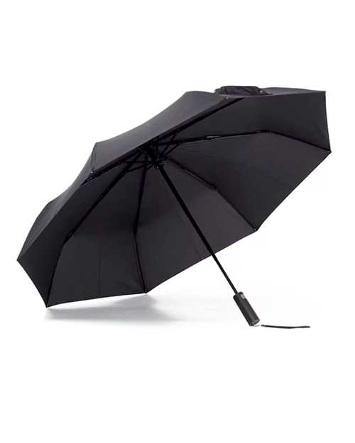 Зонт Xiaomi Mijia Automatic Umbrella Black - фото 1