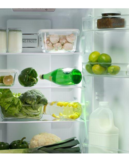 Холодильник Sharp SJB320EVWH white - фото 3