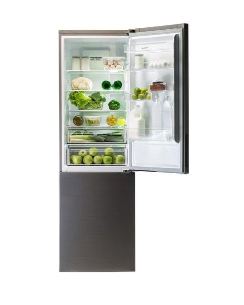 Холодильник Sharp SJB340XSIX inox - фото 3