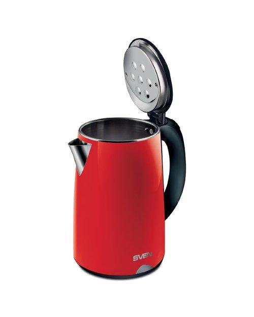 Чайник электрический SVEN  KT-D2004, красный - черный - фото 3