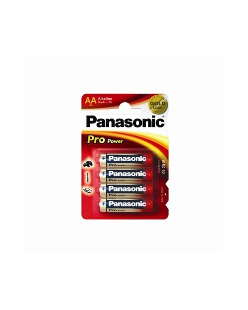 Батарейка щелочная PANASONIC Pro Power AA/4B - фото 1