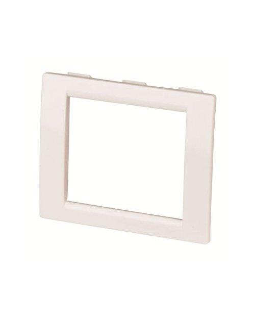 DKC F00011 Рамка универсальная на 2 модуля, цвет белый