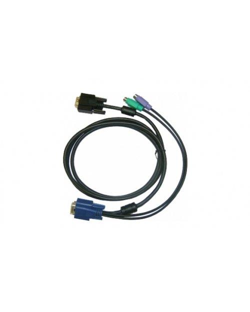 D-Link DKVM-IPCB  Кабель KVM для устройств DKVM-IP1/IP8, длина 1,8м - фото 1