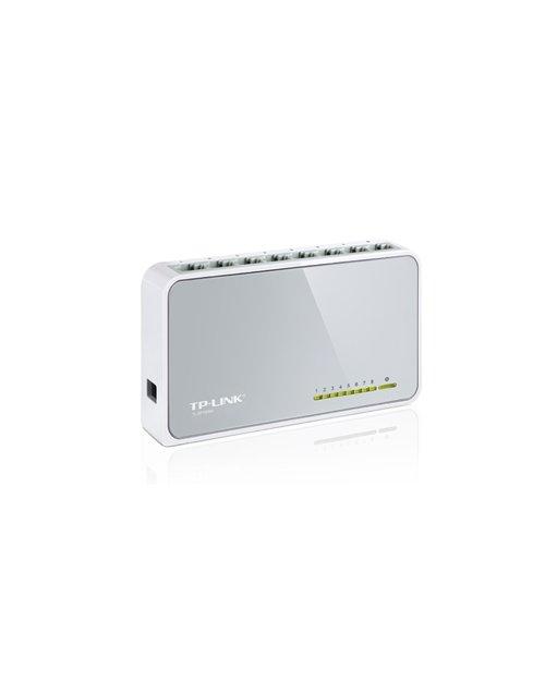 TP-Link TL-SF1008D 8-портовый 10/100 Мбит/с настольный коммутатор - фото 2