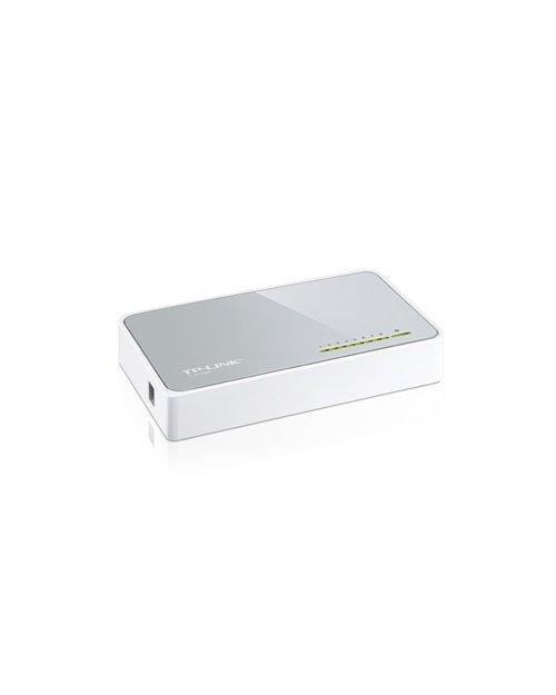 TP-Link TL-SF1008D 8-портовый 10/100 Мбит/с настольный коммутатор - фото 3