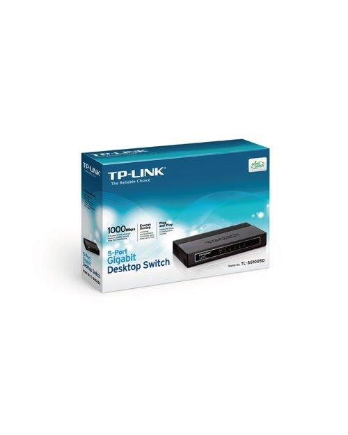 TP-Link TL-SG1005D 5-портовый гигабитный настольный коммутатор - фото 1