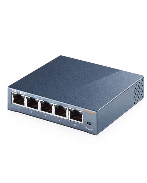 TP-Link TL-SG105 5-портовый 10/100/1000 Мбит/с настольный коммутатор - фото 3
