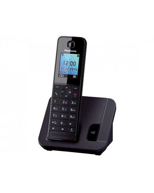 Радиотелефон PANASONIC KX-TGH220UAB Black - фото 1