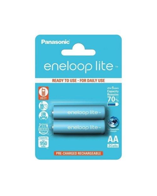 Аккумулятор PANASONIC Eneloop Lite AA 950 mAh/2B - фото 1