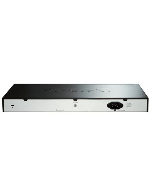 D-Link DGS-1510-28X/A1A Сте-мый комм-тор SmartPro 24 порта 10/100/1000Мб + 4 порта 10GBase-X SFP+ - фото 3
