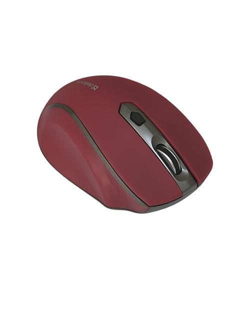 Беспроводная оптическая мышь Safari MM-675 Nano Sunset (крас),5кн+кл 800/1200/1600dpi - фото 3