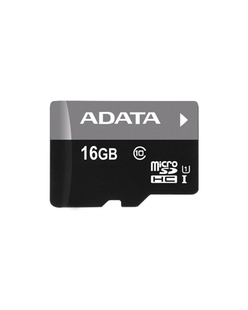 ADATA microSDHC UHS-I CLASS10, Retail w/1 adapter, 16 Gb - фото 1