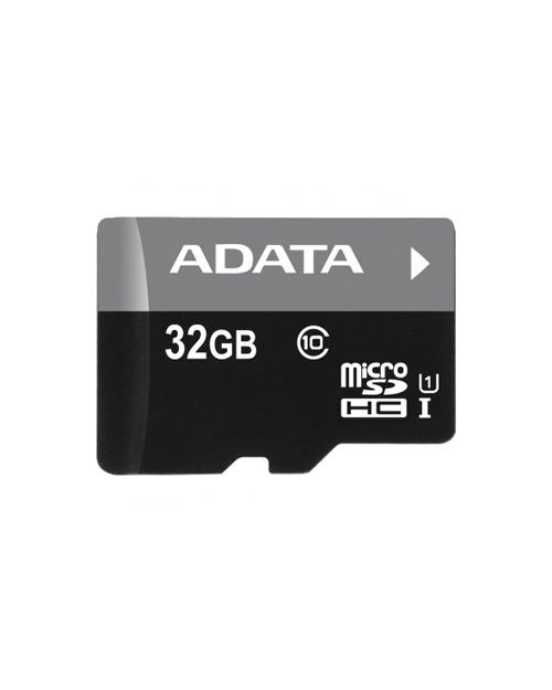 ADATA microSDHC UHS-I CLASS10, Retail w/1 adapter, 32 Gb - фото 1