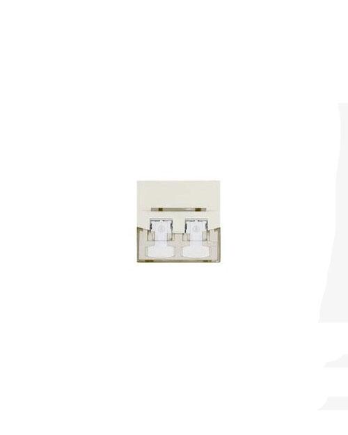 3М FQ100078655 Лицевая панель под модуль Volition®, 1-порт, 45 х 45, белая - фото 1