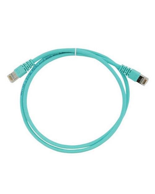 3M FQ100007381 Коммутационный кабель кат. 6А, экранированный, S/FTP, RJ45-RJ45, бирюзовый, LSZH, 2 м