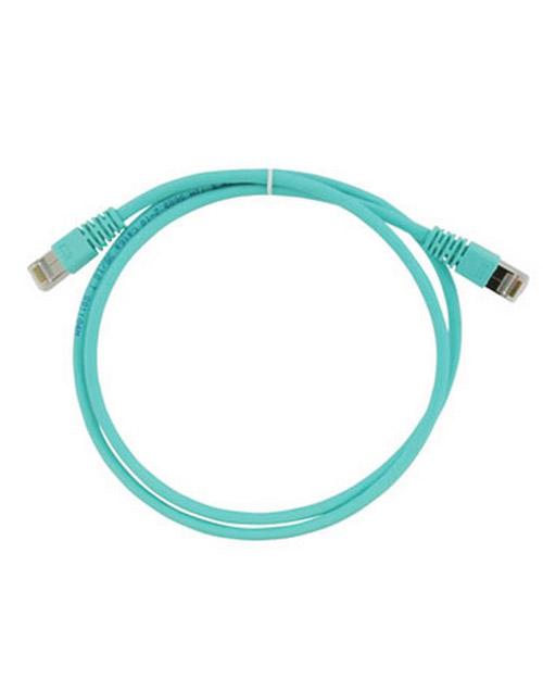 3M FQ100007399 Коммутационный кабель кат. 6А, экранированный, S/FTP, RJ45-RJ45, бирюзовый, LSZH, 3 м - фото 1