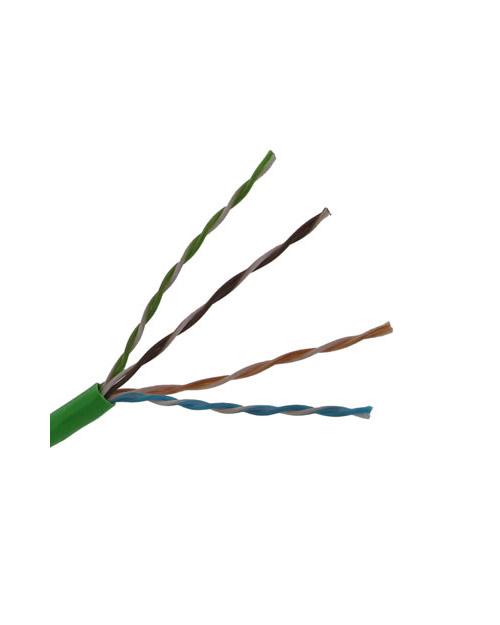 3М DE010024318 Кабель витая пара кат. 5е, неэкранированный, U/UTP, 4 пары, PVC (305 м), зеленый - фото 1