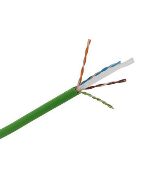 3М DE010024334 Кабель витая пара кат. 6, неэкранированный, U/UTP, 4 пары, PVC (305 м), зеленый - фото 1
