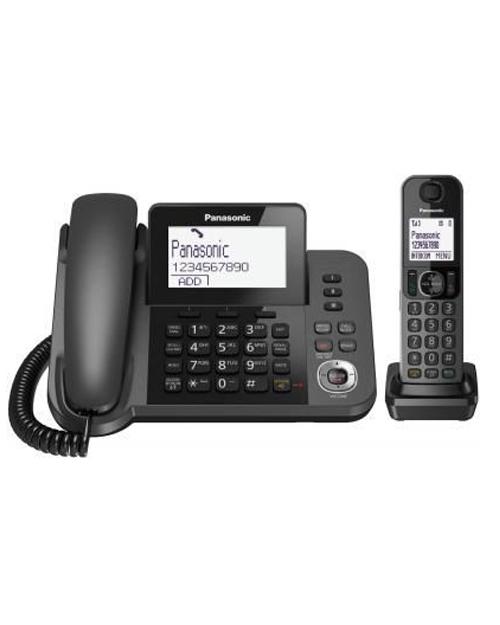 Радиотелефон PANASONIC KX-TGF320UCM Black - фото 1