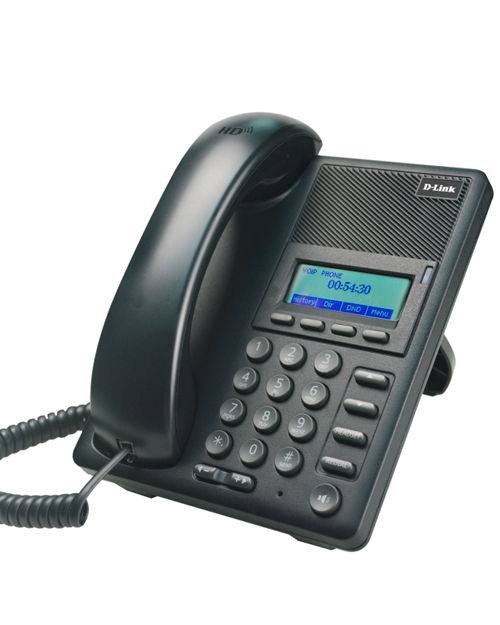 D-Link DPH-120S IP-телефон с 1 WAN-портом 10/100Base-TX, 1 LAN-портом 10/100Base-TX - фото 1