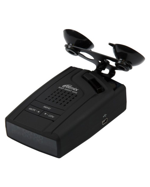 РАДАР-ДЕТЕКТОР RITMIX RAD-505ST GPS - фото 2