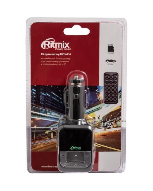 FM трансмиттер RITMIX FMT-A710 - фото 2
