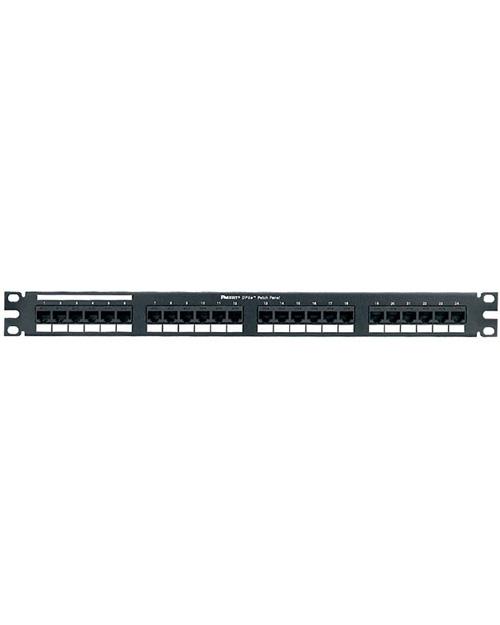3М UU001622883 Коммутационная панель (CLASSIC) наборная, 24 порта,  1U, черная, с органайзером - фото 1