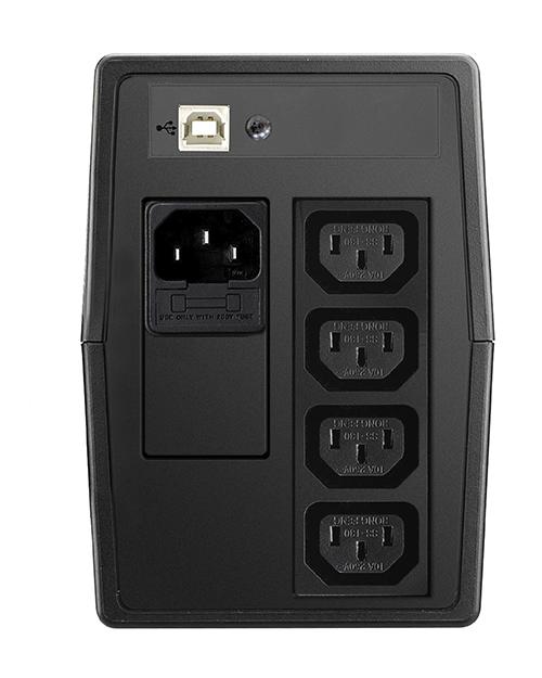 ИБП Delta VX600 Линейно-интерактивный ИБП 600 ВА/ 360 Вт - фото 2