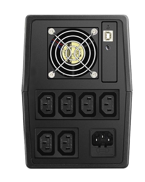 ИБП Delta VX1500 Линейно-интерактивный ИБП 1500 ВА/ 900 Вт - фото 2