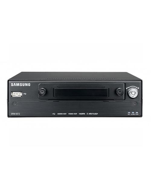 Samsung SRM-872P 8-канальный сетевой видеорекордер с PoE