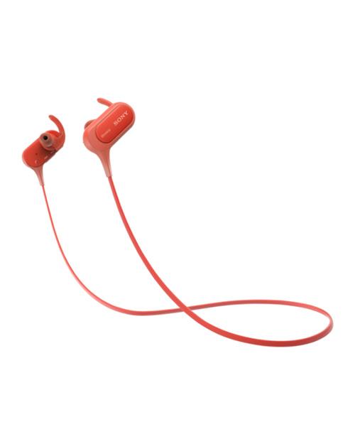 Наушники-вкладыши Sony MDRXB50BSR.E Bluetooth, красный - фото 1