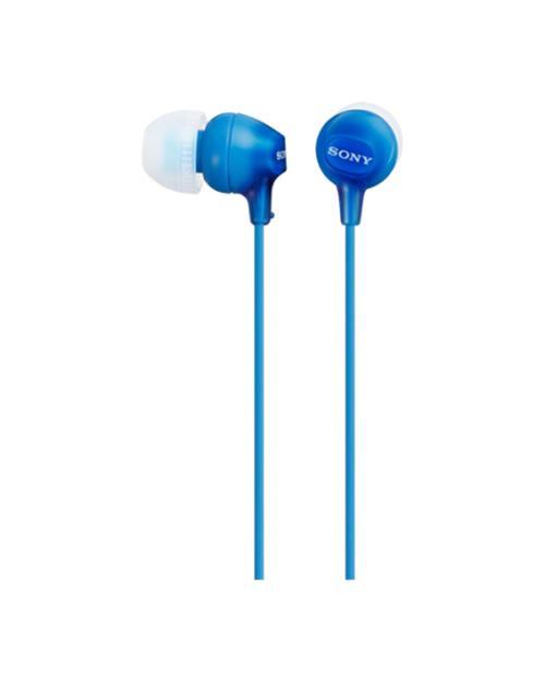 Наушники-вкладыши Sony MDREX15LPLI.AE, синий - фото 1
