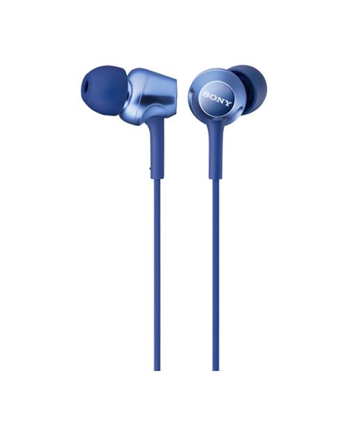 Наушники-вкладыши Sony MDREX250APLI.E, синий - фото 1