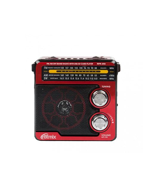 Радиоприемник RITMIX RPR-202 red - фото 1