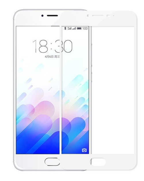 Защитное стекло M5c Tempered Glass Screen Protector Original - фото 1
