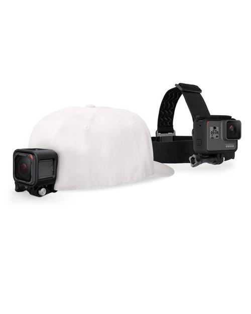 Крепление на голову + крепление-клипса на одежду GoPro ACHOM-001 (Headstrap + QuickClip) - фото 1