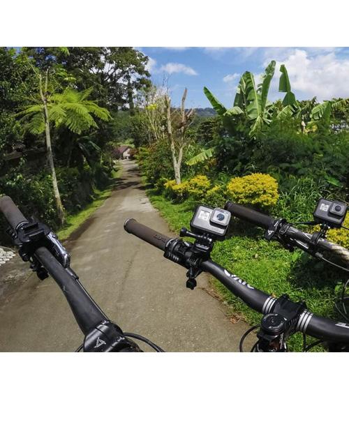 Крепление на руль/седло/лыжные палки 9-35мм GoPro AGTSM-001 (Handlebar/Seatpost/Pole Mount) - фото 2