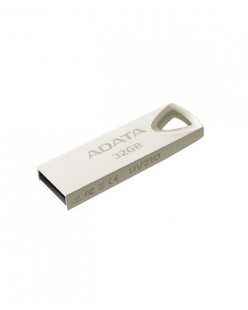 ADATA DashDrive Durable UFD 2.0, UV210, 32GB, Silver - фото 1