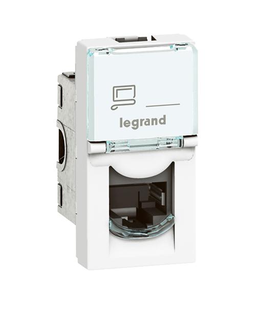 Legrand 076563 MOSAIC RJ45 STP кат6 1 мод